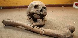 W usta włożono mu kawałek cegły, a nogi przebito gwoździami