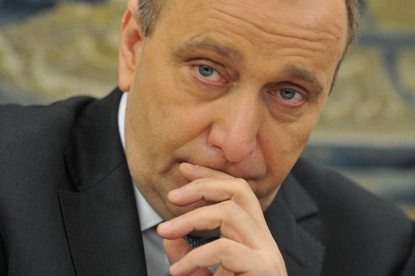 Wiceszef PO Grzegorz Schetyna