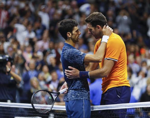 Novak Đoković i Huan Martin del Potro