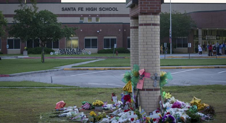 He claimed to have been a hero in a school shooting, but he wasn't there