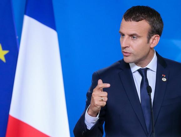 Emanuel Makron, predsednik Francuske