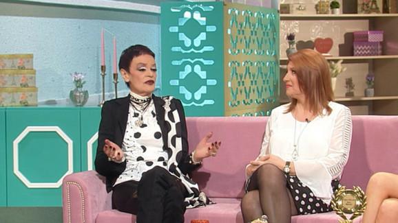 Biljana Jevtić i Ruška Jakić tokom emisije