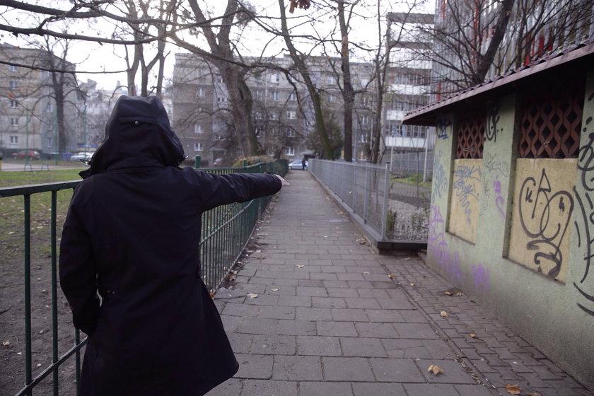 Miejsce napadu (Podwale/Kołłątaja)