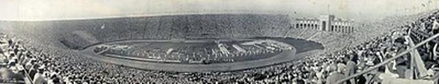 Los Anđeles – olimpijski stadion 1932. godine