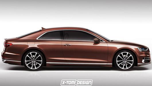 Audi A8 Coupe – sposób na klasę S Coupe?