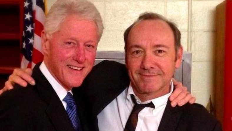 Bill Clinton, Kevin Spacey