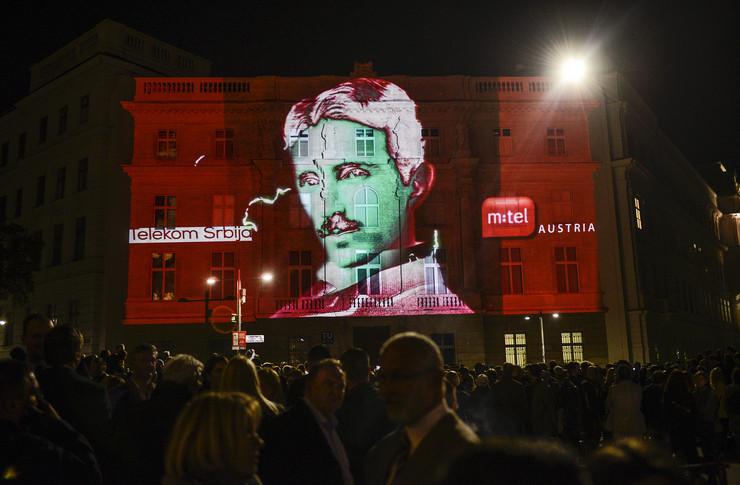 Nikola Tesla, Vremeplov, Beč