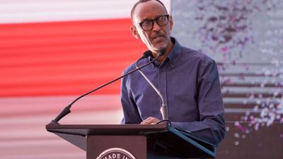 Rwanda's President Kagame blames Kenya and Uganda for long cargo delays