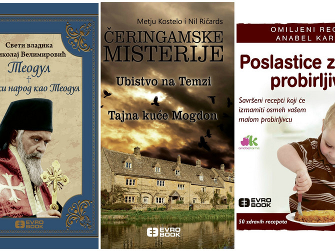 """Naslovi koje svi volimo: Čak tri nove knjige za vašu """"Blic žena"""" biblioteku"""