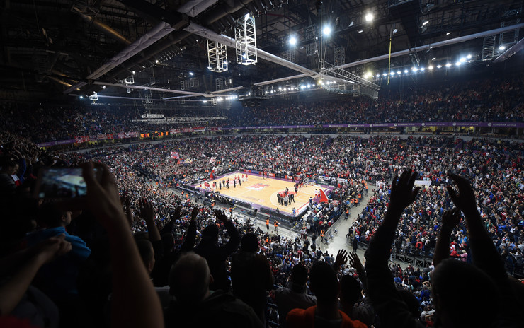 KK Crvena zvezda, KK CSKA