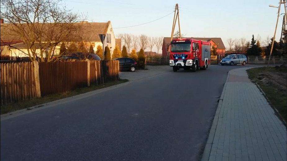 Strażacy z OSP Podzamcze