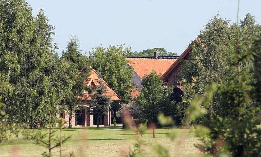 Oto posiadłość Kwaśniewskich