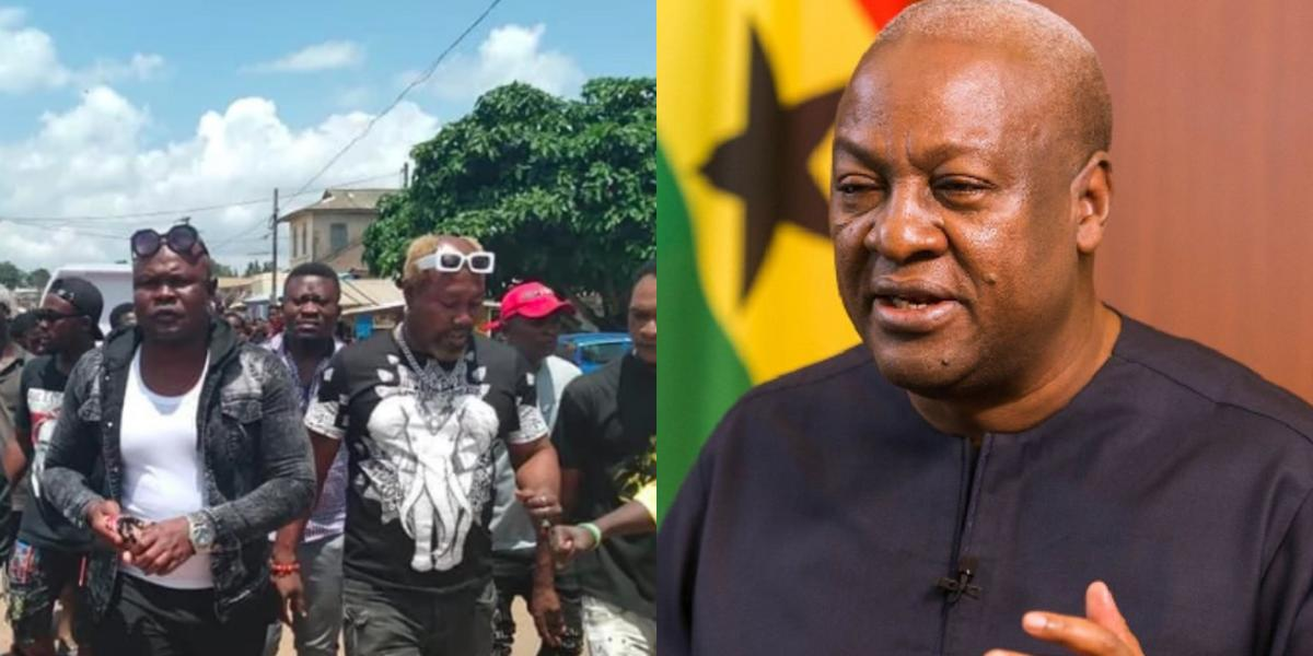John Mahama: Bukom Banku thanks ex-President for covering cost of his mother's funeral