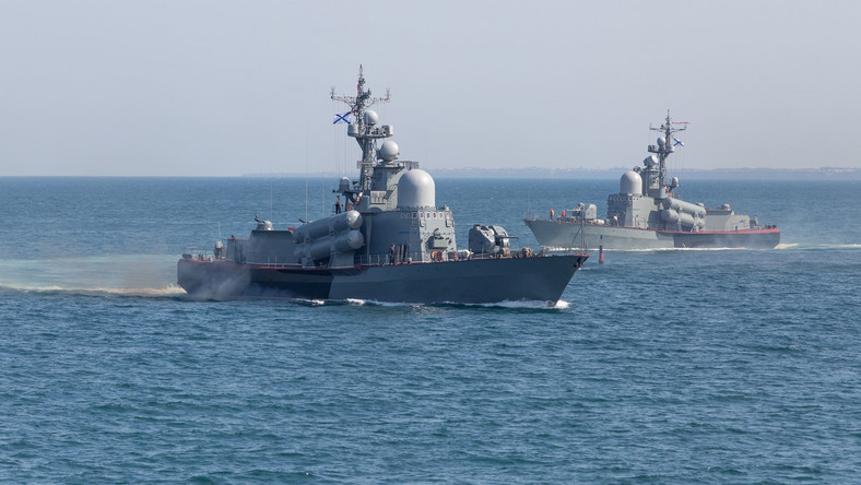 Rosyjskie okręty
