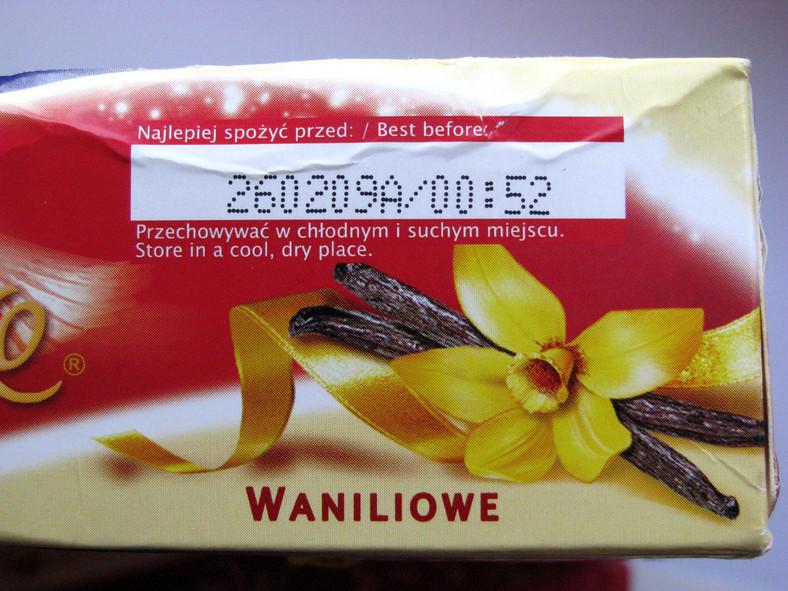 Wycofywany produkt to Ptasie Mleczko 420g o smaku waniliowym, z następującą datą przydatności do spożycia: 250209C oraz 260209A