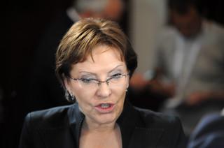 Kampania minister Kopacz za unijne pieniądze