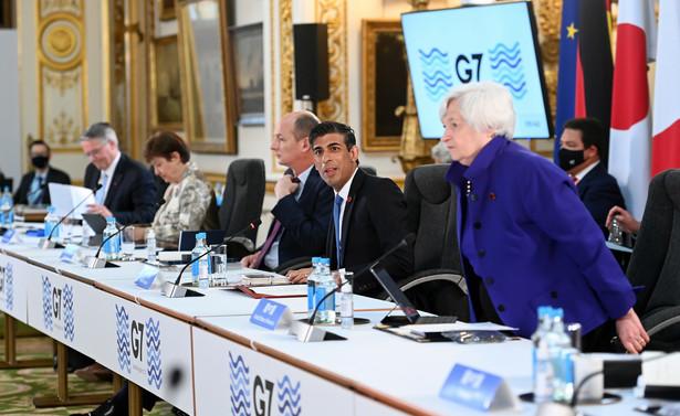 """Bruno Le Maire powiedział, że będzie walczył o wyższą globalną minimalną stawkę podatku od osób prawnych niż 15 proc., którą określił jako """"punkt wyjścia""""."""