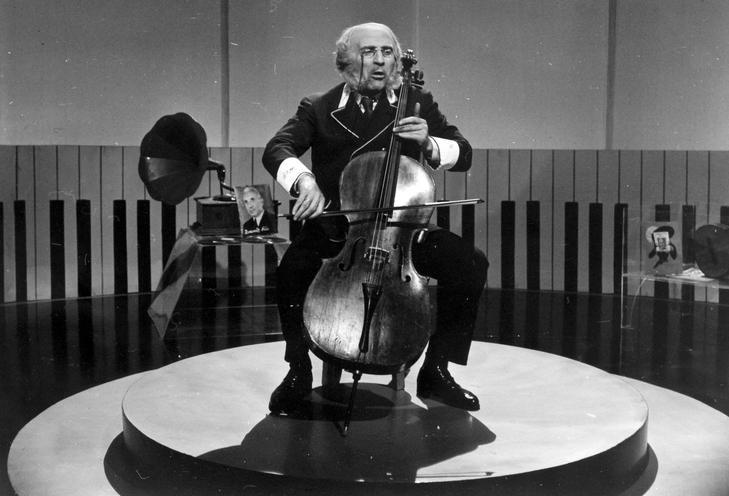 Alfonzó 1963 szilveszterén / Fotó:  Fortepan - Hangosfilm