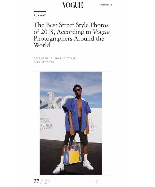 6 Ghanaians that made us pround in fashion around the world  in 2018