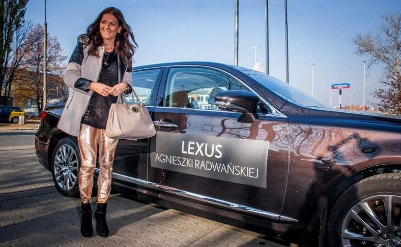 Sponsorem Agnieszki Radwańskiej jest Lexus