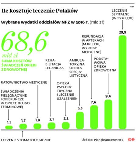 Ile kosztuje leczenie Polaków