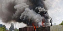 Wagony w ogniu