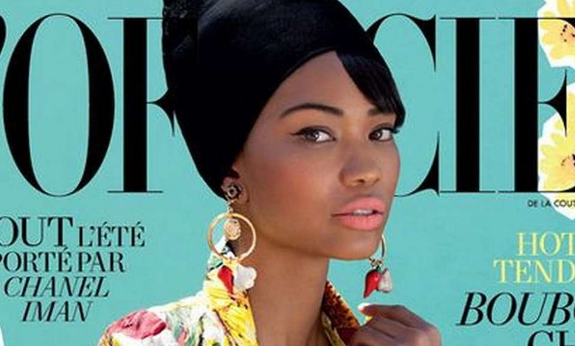 Chanel Iman L'Officiel 2012