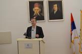 "Prof. dr Milojko Arsić, autor ""Kvartalnog monitora"""