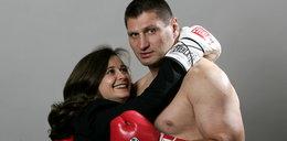 Pojedynek żon na walce Gołota - Saleta