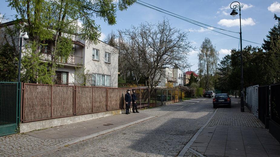 Dom Jarosława Kaczyńskiego, 16 kwietnia 2020 r