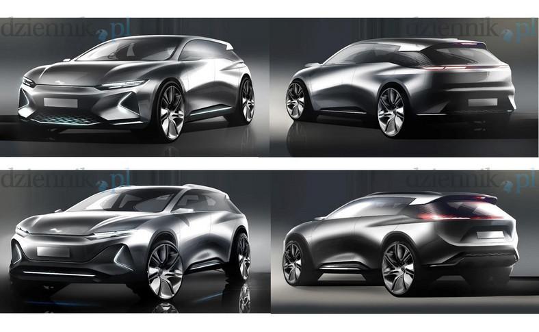 Jeden z projektów, które spółka EMP brała pod uwagę przy wyborze stylistyki polskiego auta elektrycznego do seryjnej produkcji