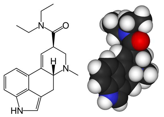 Molekul LSD-a