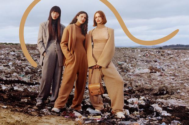 The Beatles Polska: Stella McCartney w najnowszej kampanii zwraca uwagę na problem nadmiernej konsumpcji