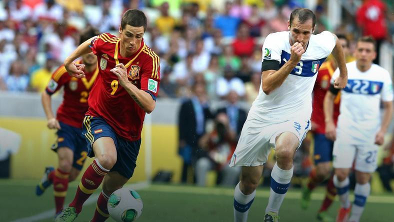 Hiszpania - Włochy: Fernando Torres (L)