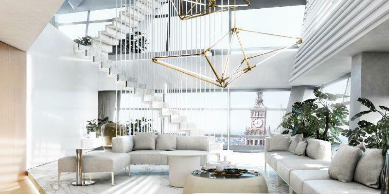 Warszawa: Zobacz, jak wygląda najwyżej położony apartament w UE