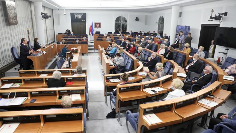 Sala posiedzeń Senatu