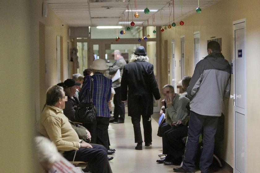 Kamil Sipowicz w szpitalu