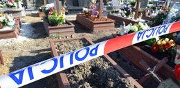 Koszmarne sceny na cmentarzu. Mieszkańcy wstrząśnięci