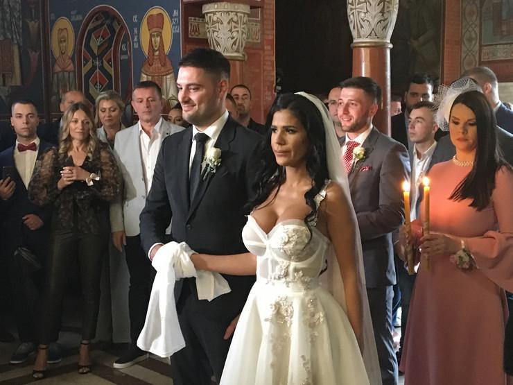 Ljuba Perućica i Katarina Kolozeus - venčanje