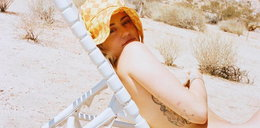 Znana piosenkarka znowu szokuje. Na tym zdjęciu jest naga!