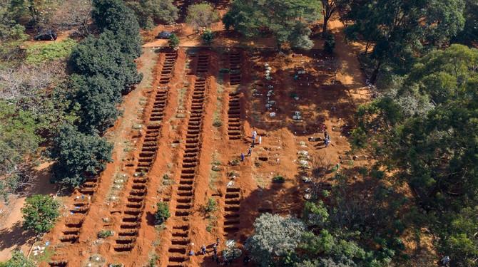 Masovne sahrane u Brazilu