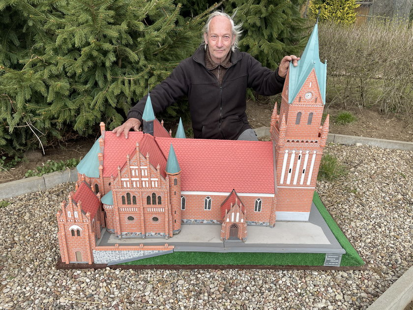 Pan Henryk to mistrz miniatur
