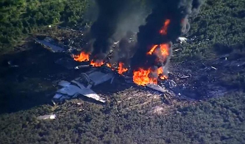 Katastrofa samolotu. 16 osób nie żyje