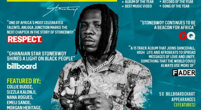 Stonebwoy's 2021 Grammys dream shattered as Recording Academy announces nominees