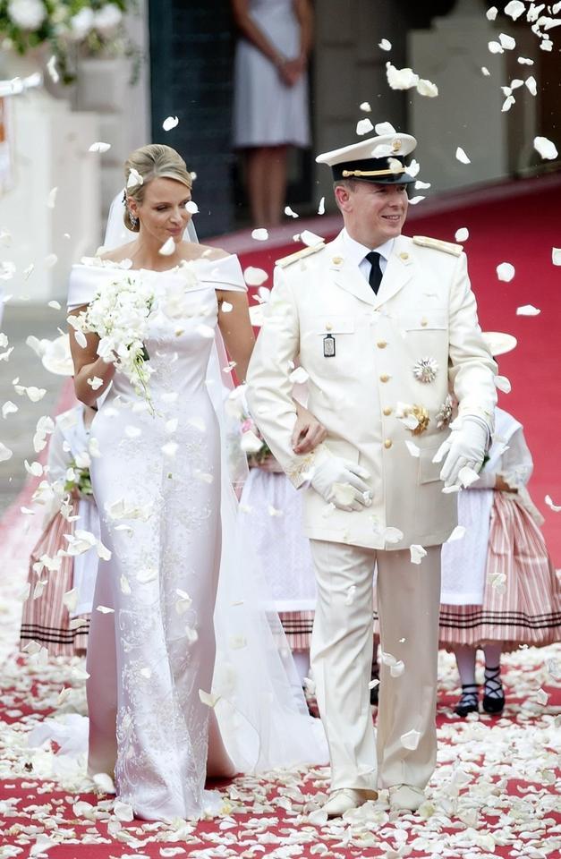 Albert II Grimaldi i Charlene Wittstock
