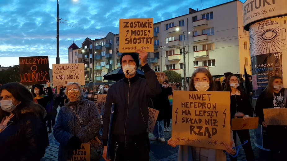 Protest w Gorzowie