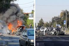 Automobil odleteo u vazduh zbog podmetnute bombe