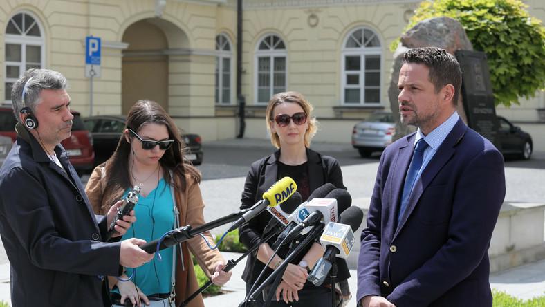 Prezydent m.st. Warszawy Rafał Trzaskowski