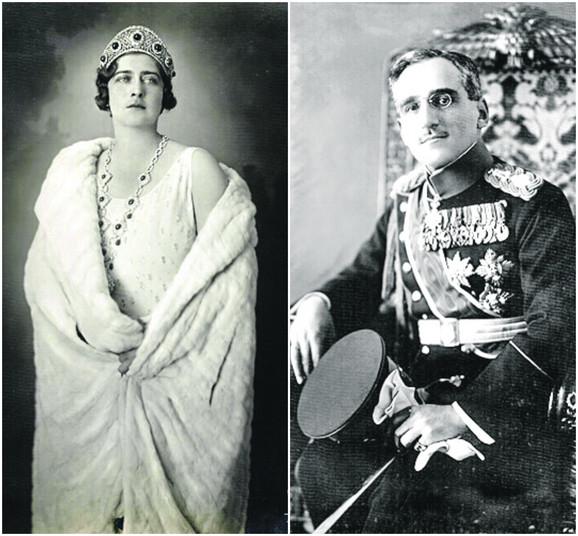 Kralj Aleksandar prvi Karažorđević i kraljica Marija