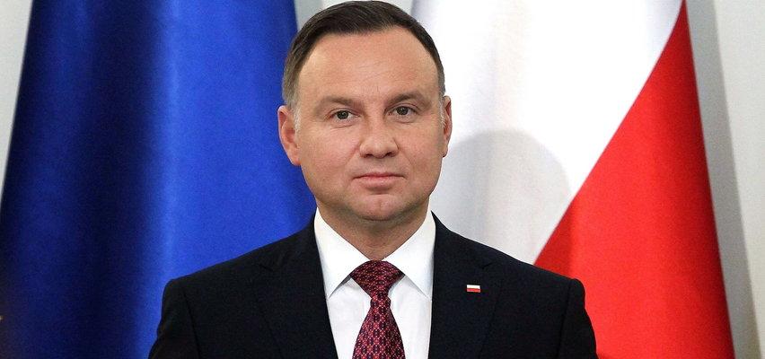 """Prezydent Duda o niepowitaniu kanclerz Merkel w Polsce. """"Bardzo mi przykro"""""""